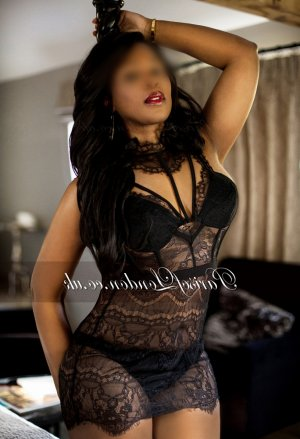 Corane ebony escort girl